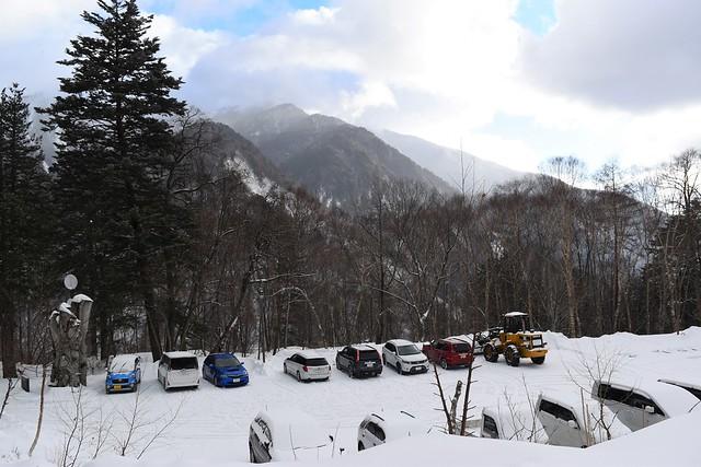 中ノ湯温泉駐車場
