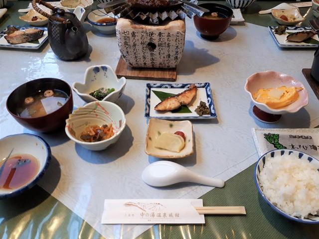 中ノ湯温泉旅館・朝食