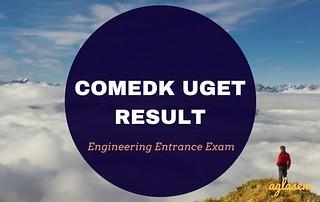 COMEDK UGET 2018 Result