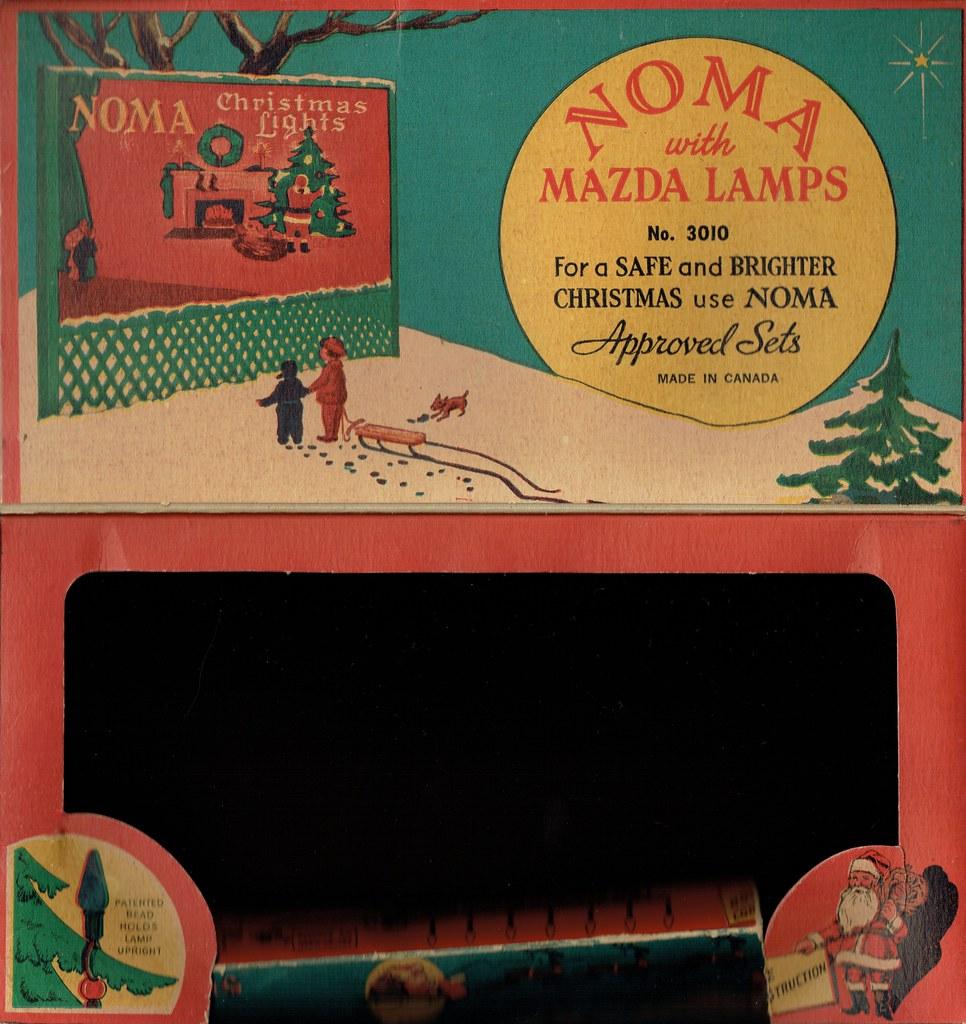 Christmas Lights by Noma with Mazda lamps 3 | Bruno ...More than 1.8 ...