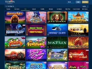 Europa Casino Lobby