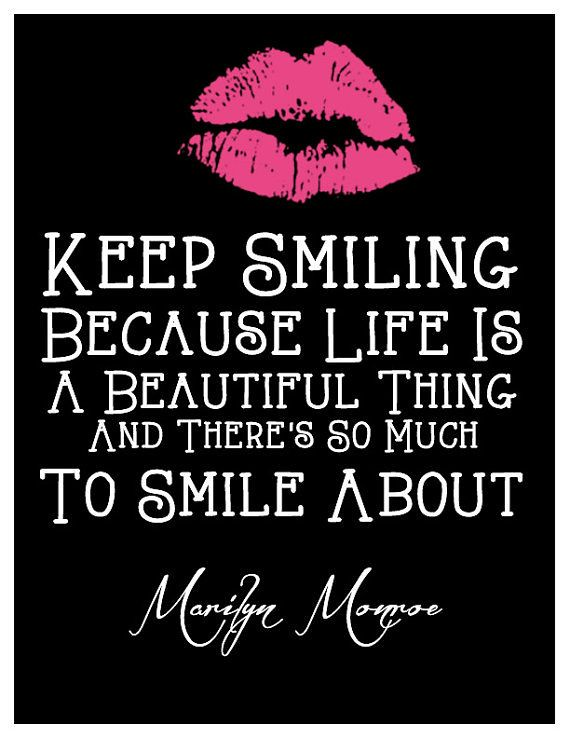 celebrity quotes keep smiling quotes and inspiration f flickr