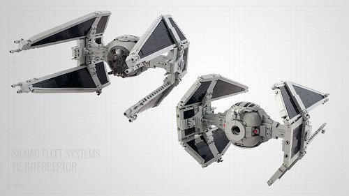 TIE Interceptor | by Jerac