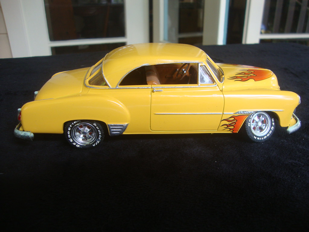1951 Chevrolet Chevy Chev Bel Air Amt Ertl Hot Rod Plastic Flickr Model By Darren Marlow