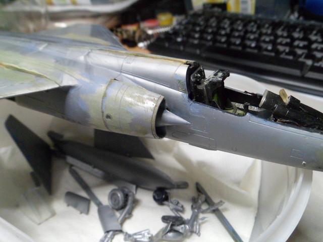*Renaissance en-cours* Dassault Mirage F1 [ESCI 1/48] 38442138345_20707af0f1_z