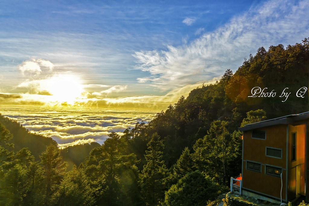 排雲山莊 3402m