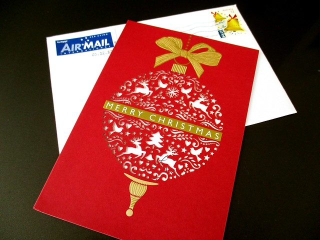 Christmas card from Perth
