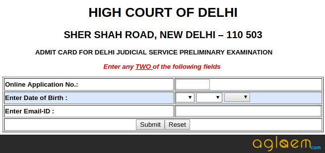Delhi Judicial Service Exam Admit Card 2018 Released   Download Here For Main Exam!