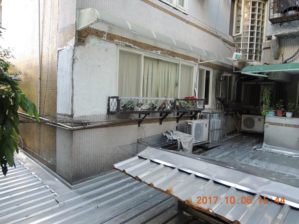 擺放在行義路住宅區的誘捕籠,在誘捕期間,不定時需要巡視籠子、更換餌料。圖片提供:台北市動保處。