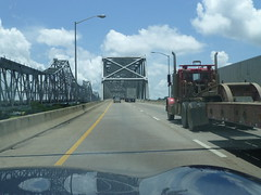 Crossing Mississippi River @ Natchez