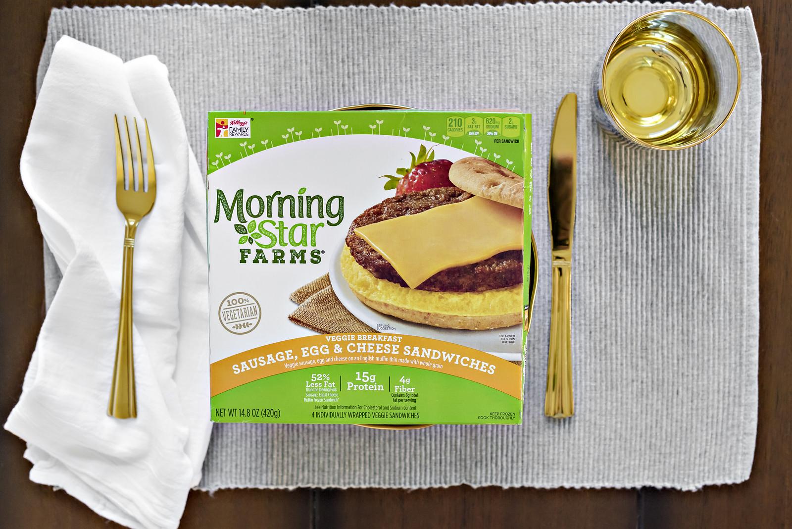 Morning Star Farms breakfast