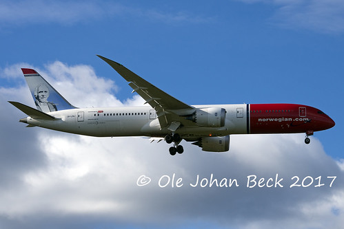 Norwegian B787-9 LN-LNJ as DY7032 from FLL 06-10-2017 | by Ole Johan Beck