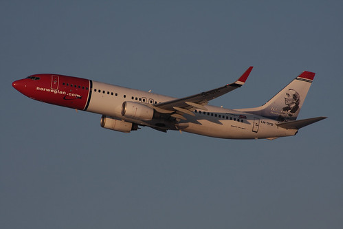 "Norwegian Air Shuttle Boeing 737-8JP LN-DYD 150115 ARN | by Anders ""Bromma"" Nilsson"