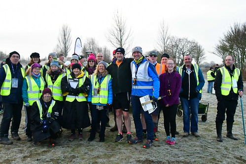 Volunteers with Mark Layzell