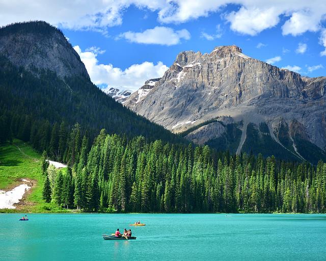 Lago Emerald, uno de los rincones más bonitos que ver en Canadá