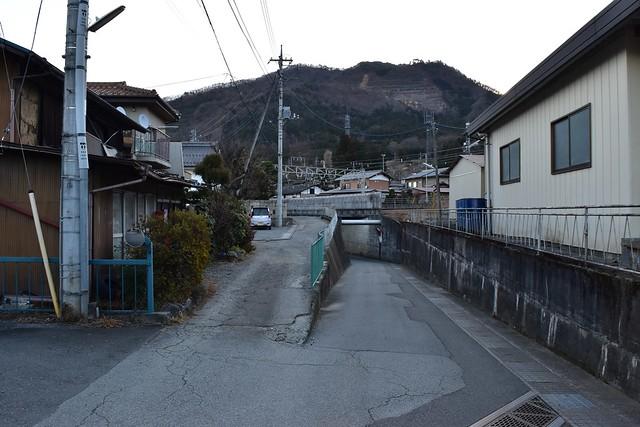 初狩駅から高川山への道順