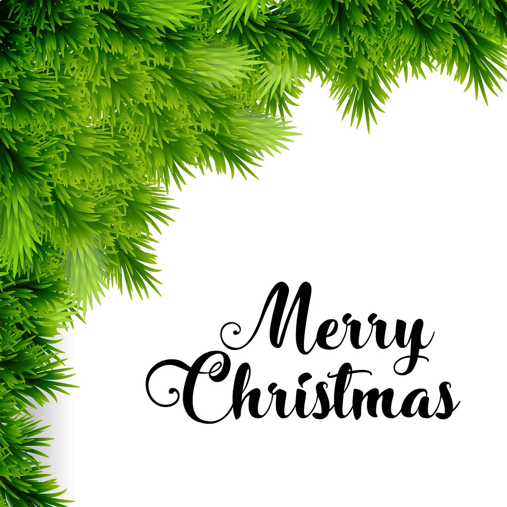 white creative typography on merry christmas happy new year christmas poster including grass white creative typography on