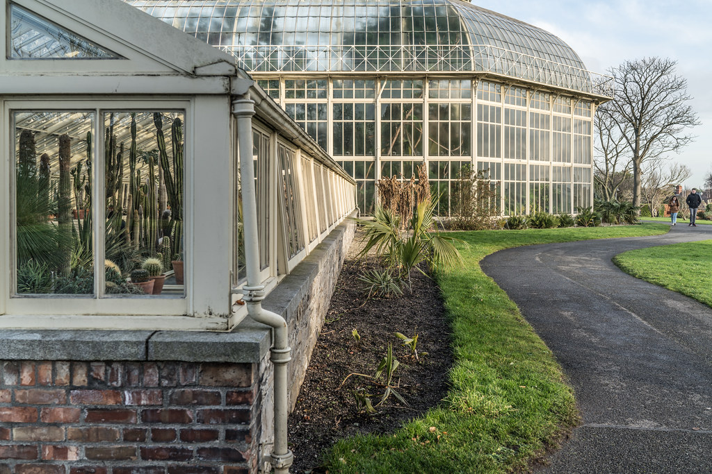SOME OF THE GLASSHOUSES IN THE BOTANIC GARDENS 003