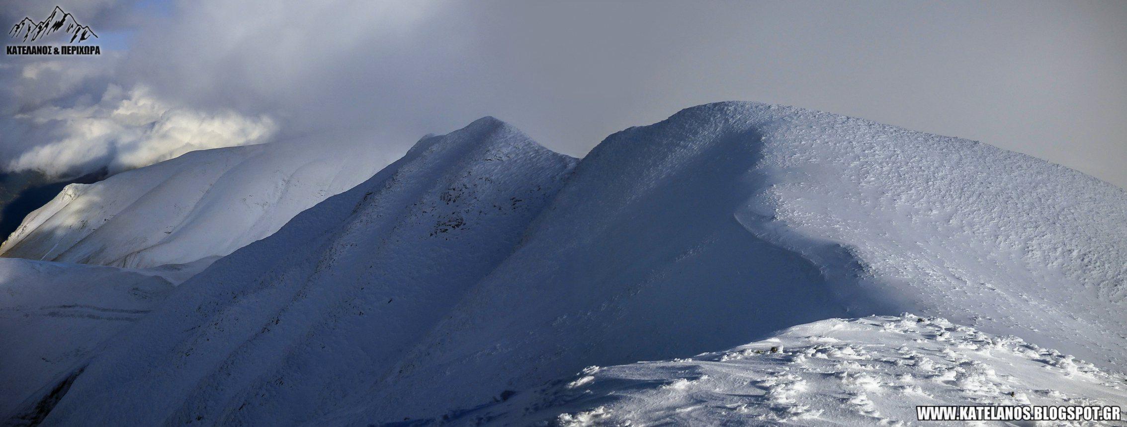 χειμερινο βουνο ευρυτανιας βελουχι συμπεθερικο