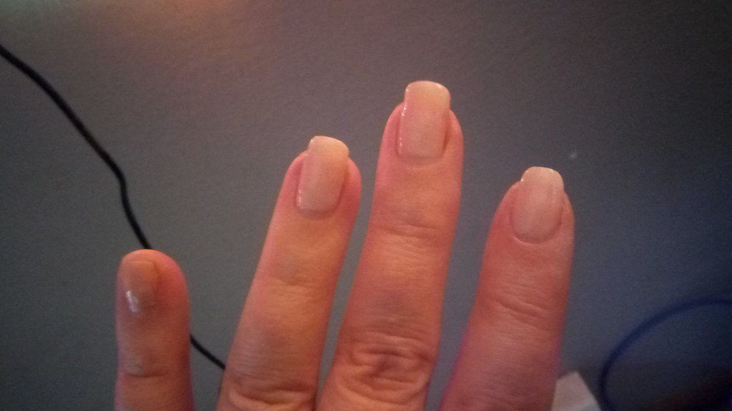 Nails | ...broke my pinky nail. Such a bummer. | goblinbox_( ...