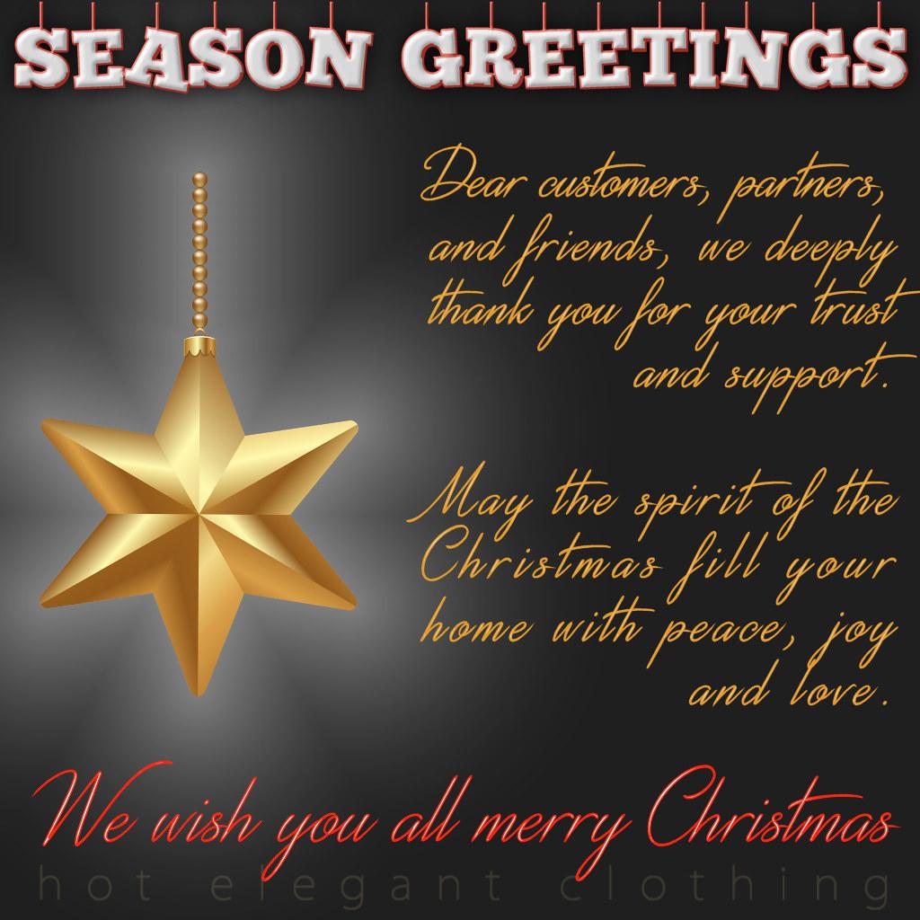 Hec Christmas Card 2017 Dear Customers Partners And Fri Flickr