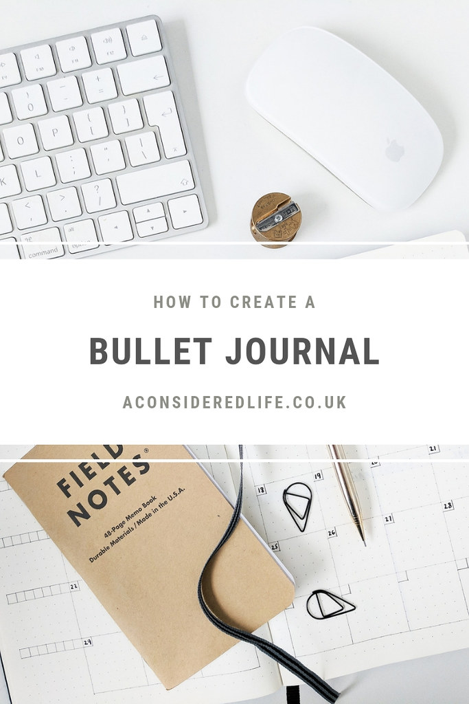A Minimalist Bullet Journal
