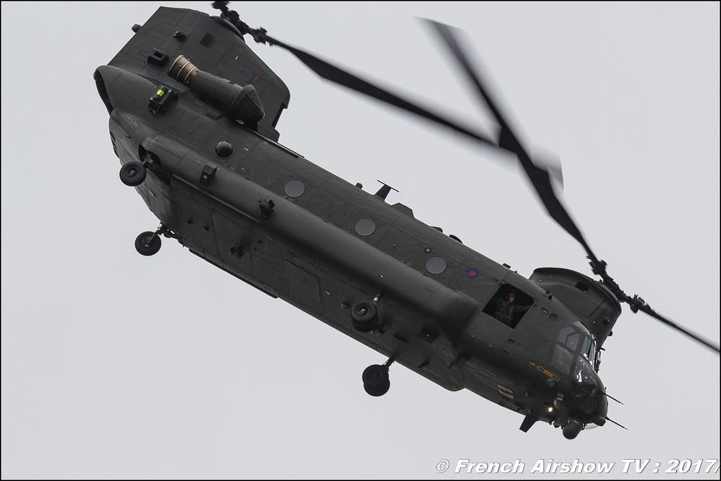RAF Boeing CH-47 Chinook Display , Royal International Air Tattoo 2017 , Air Tattoo – RIAT 2017 , Fairford , UK Airshow Review 2017 , Meeting Aerien 2017