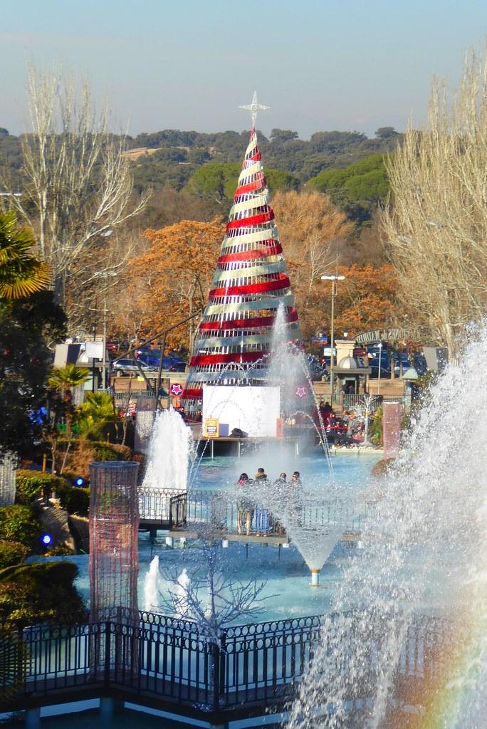 Navidad en el Parque de Atracciones de Madrid