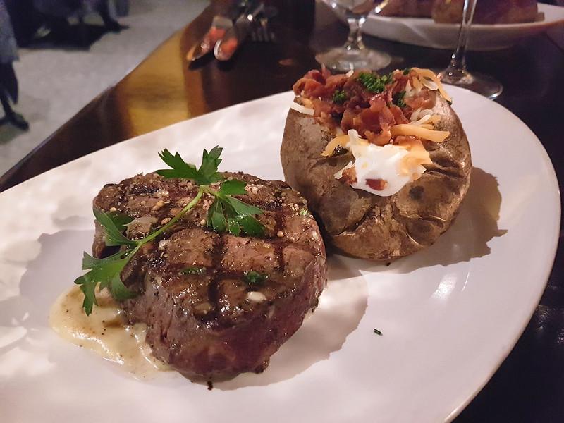 saltlik calgary steak and baked potato
