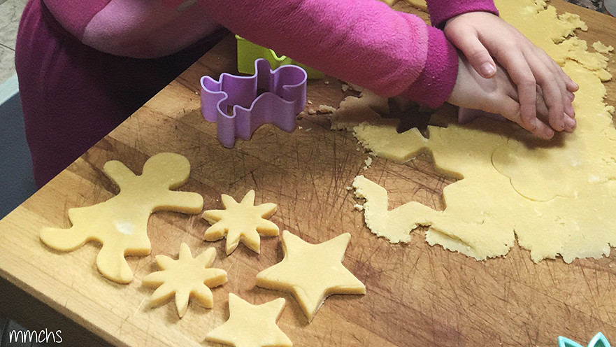 galletas caseras con formas y figuras