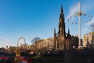 christmas market | edinburgh | by John FotoHouse