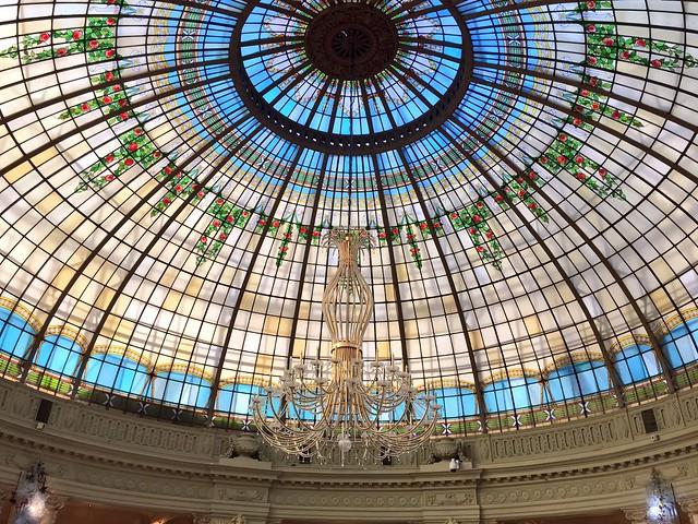 Cúpula del Hotel Palace de Madrid