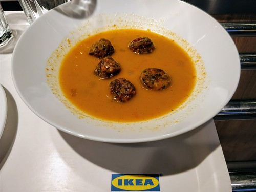IKEA Singapore's Vegetable Balls in Tom Yum Broth
