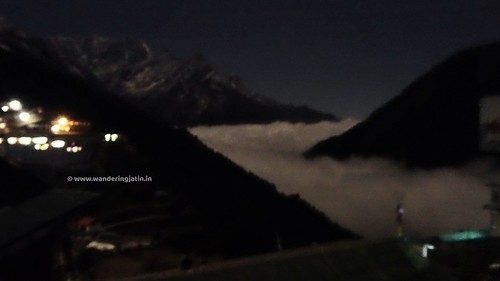 River of clouds at Namche | by wanderingjatin