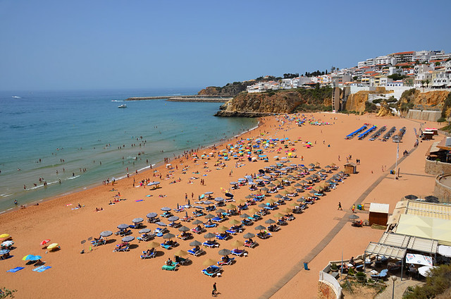Albufeira beach, Algarve, Portugal