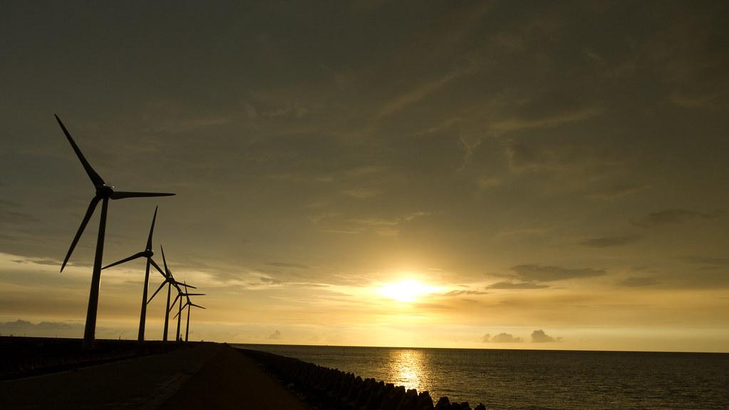 彰化地區風力發電機
