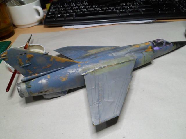 *Renaissance en-cours* Dassault Mirage F1 [ESCI 1/48] 27468700539_ae52e0a273_z