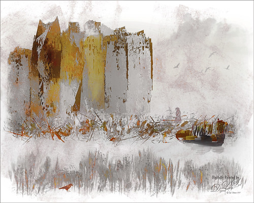 Image of a Castle Painting