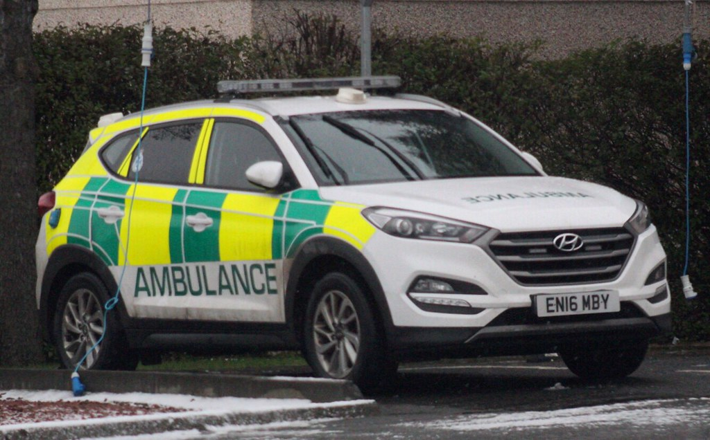 En16 Mby Scottish Ambulance Service Hyundai Tucson En16 Mb Flickr