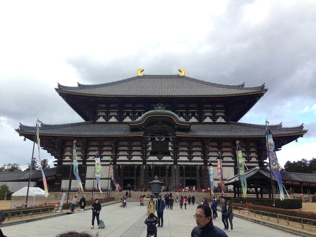 位於日本奈良的東大寺。攝影:廖靜蕙