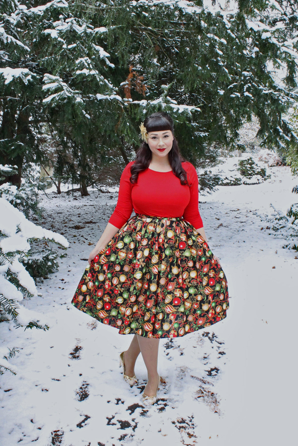 retrolicious ornament skirt