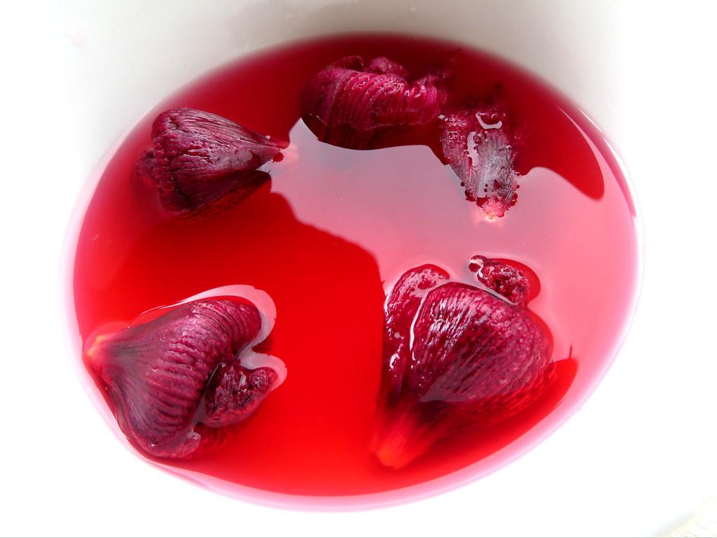 Hibiscus flower dye for mamaki tea red dye from hibiscus flickr hibiscus flower dye for mamaki tea by forest kim izmirmasajfo