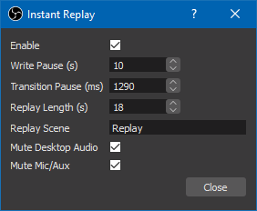Obs Pause Recording Plugin