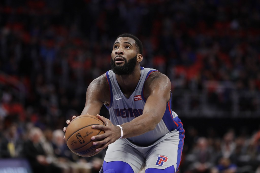 Andre Drummond。(達志影像)