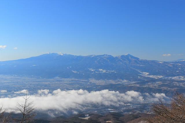 高峰高原ホテルからの八ヶ岳