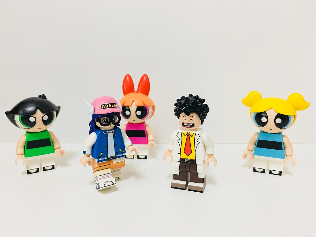 Lego Minifig Camera : Custom arale minifigures😄so cute lego minifigure minifiu flickr