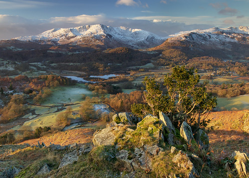 Looking over Elter water from Loughrigg Fell. | by Iain M Macleod