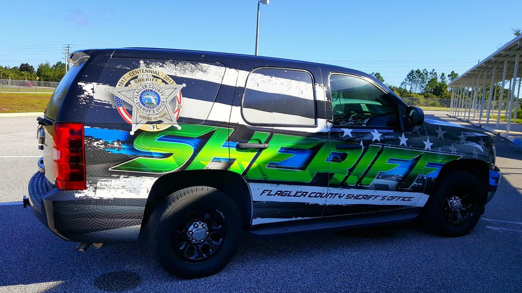 Flagler County Sheriff's Office (FCSO) Chevy Tahoe - Schoo ...