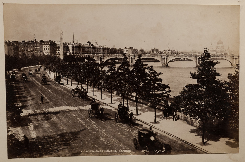 Victoria Embankment London By George Washington Wilson Flickr