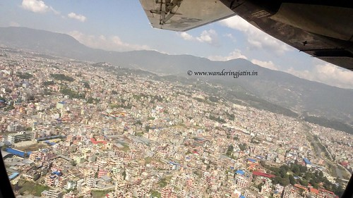 Bird's eye view of Kathmandu | by wanderingjatin